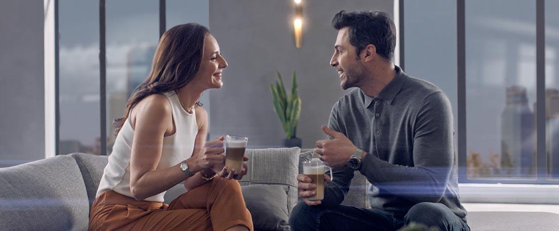 Siemens kahve makinesiyle sürprizlere hazır olun.