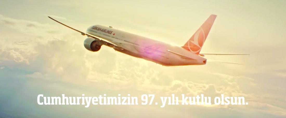 O söz hep kalbimizde – THY – 29 Ekim Cumhuriyet Bayramı