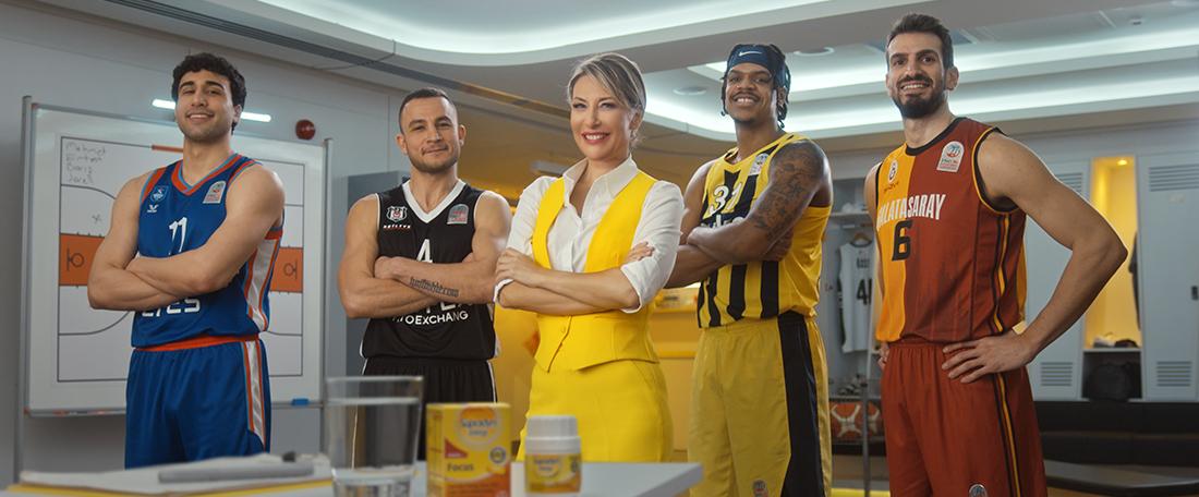 Basketbolun Yaşam Enerjisi Sponsoru
