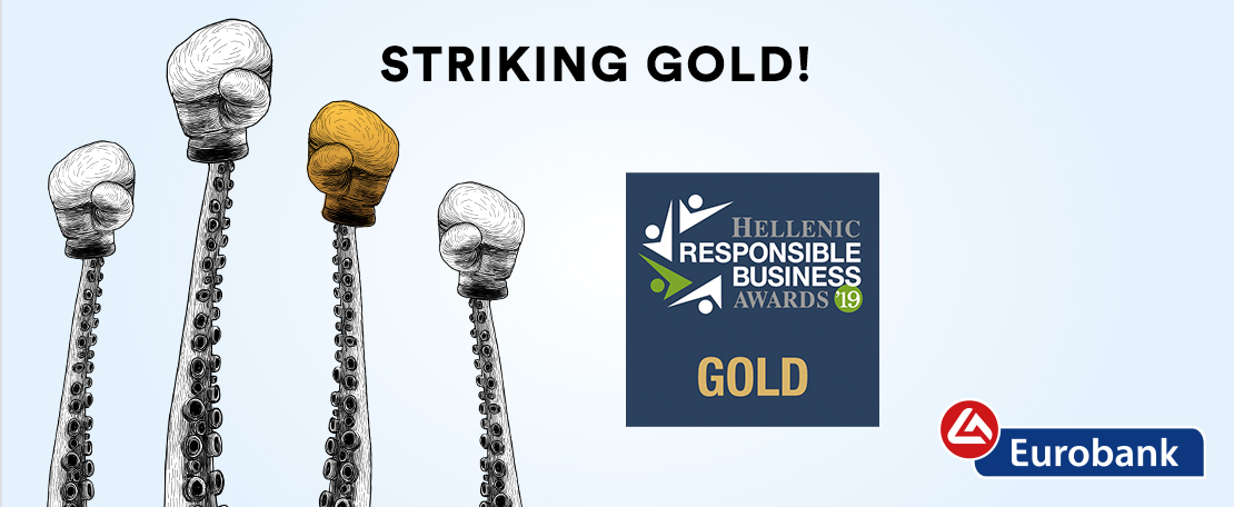 MullenLowe Athens & Eurobank Strike Gold at the Hellenic Responsible Business Awards '19