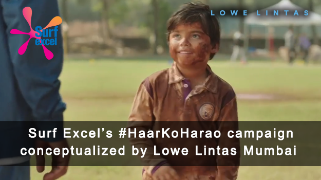 Lowe Lintas launches a new campaign #HaarKoHarao for Surf Excel