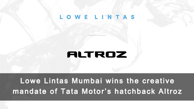 Lowe Lintas to drive the creative mandate for Tata Motor's new premium hatchback, Altroz