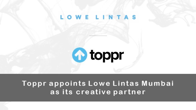 Toppr appoints Lowe Lintas as its creative partner