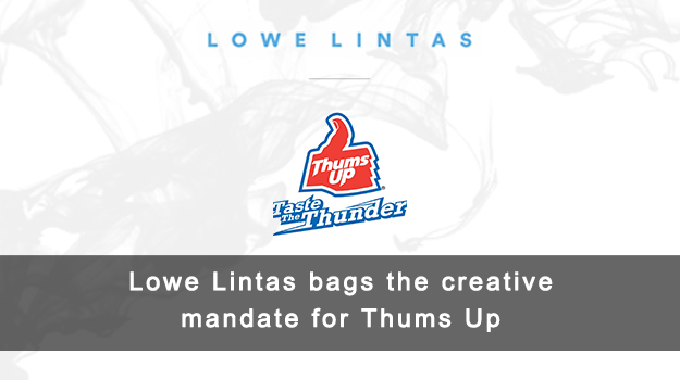 Lowe Lintas bags the creative mandate for Thums Up