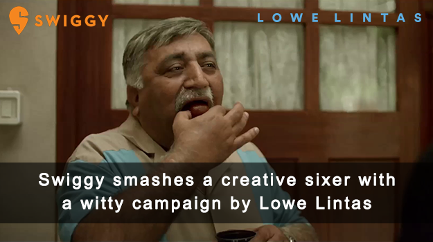 Swiggy smashes a creative Sixer with a witty campaign by Lowe Lintas