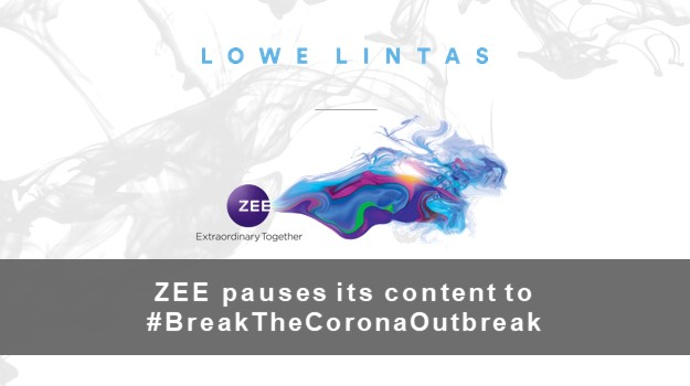 ZEE pauses its content to #BreakTheCoronaOutbreak