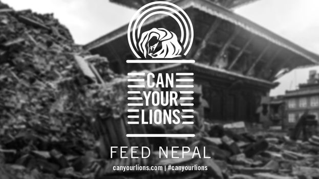 Can Your Lions. Help Feed Nepal With Us