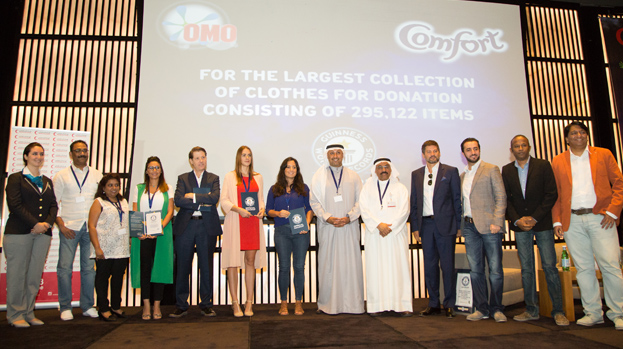 MullenLowe MENA sets a new Guinness World Record with Unilever