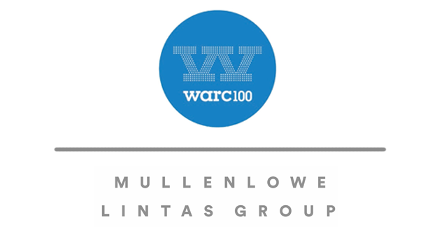 MULLENLOWE LINTAS GROUP NAMED MOST CREATIVE AGENCY IN THE WORLD FOR THE SECOND YEAR IN A ROW BY WARC