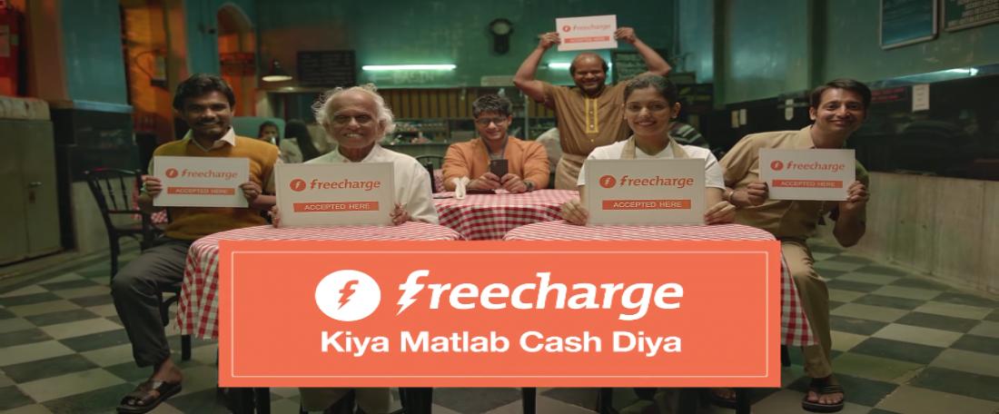 Freecharge Kiya Matlab Cash Diya