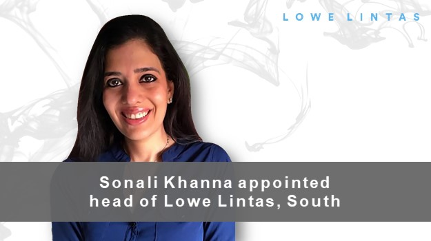 Sonali Khanna appointed Head of Lowe Lintas, South