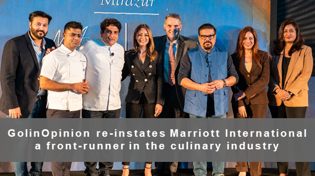 GolinOpinion reinstates Marriott International as a front-runner in the culinary industry