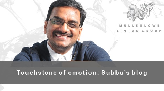 Subbu's Blog: The touchstone of emotion