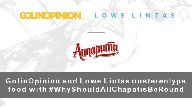 #WhyShouldAllChapatisBeRound unstereotypes food for Annapurna Atta