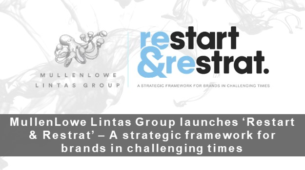 MullenLowe Lintas Group launches 'Restart and Restrat' – A strategic framework for brands in challenging times