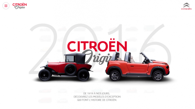 Citroën Origins – Digital