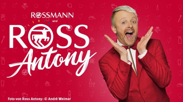 ROSSMANN wird Ross Antony