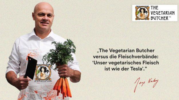 Von 0 auf Lieblingsmarke für vegetarische...