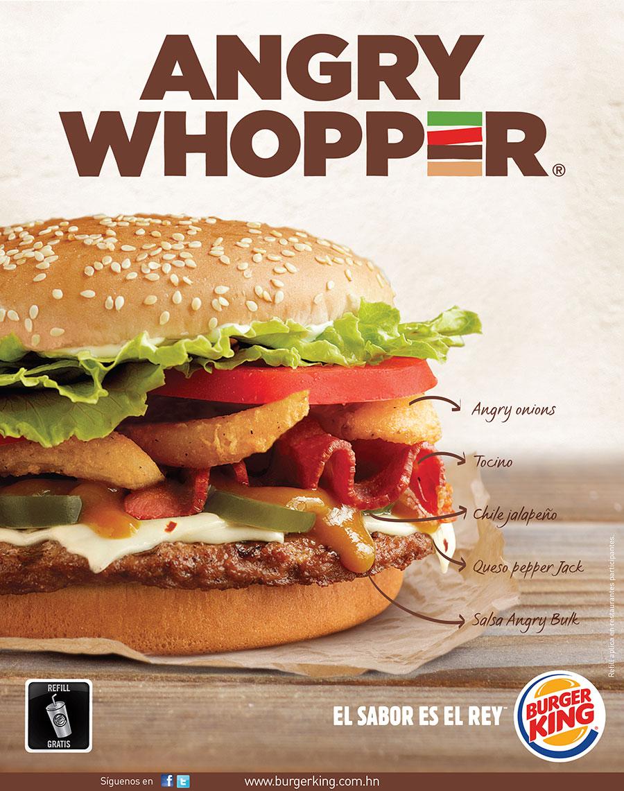 Burger King Publicidad Comercial Mullenlowe Honduras