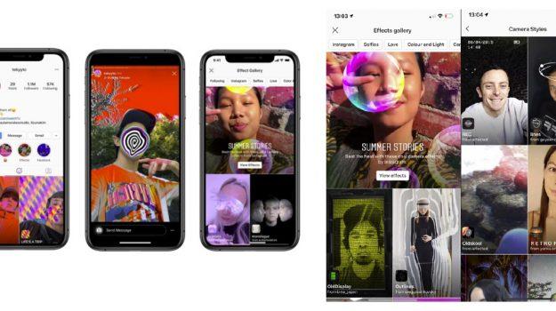 ¿Sabías qué Instagram tiene nuevos filtros AR?