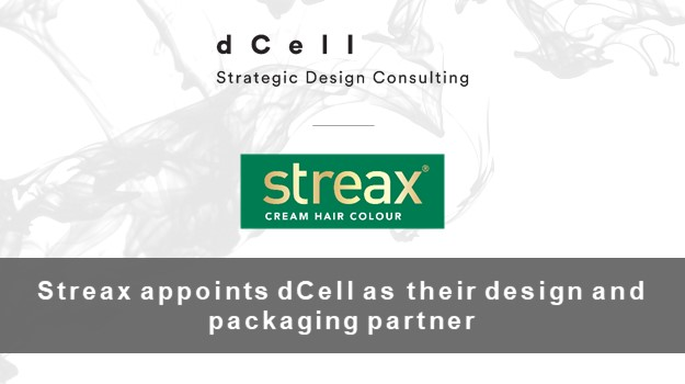 Streax appoints dCell as their design and packaging partner