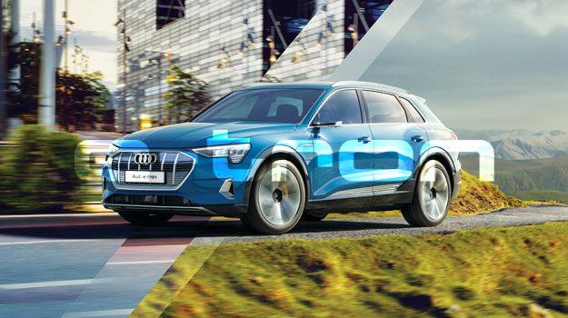 Audi e-tron a virtuálny showroom