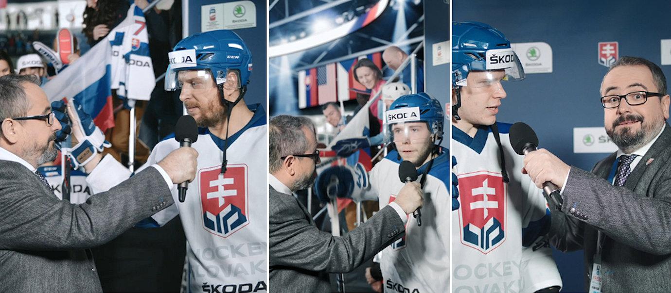 Hokejisti pre AM ŠKODA Team