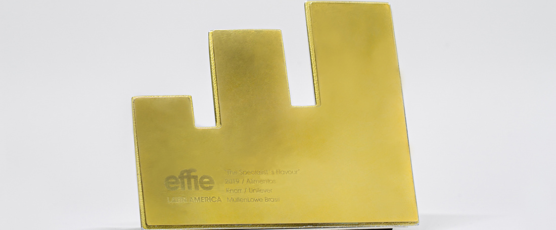 Ouro no EFFIE Latam