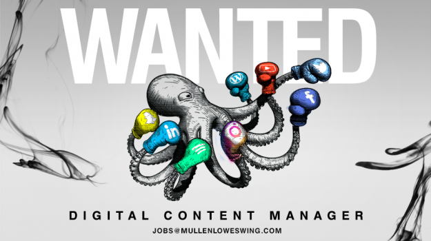 Digital Content Manager Wanted
