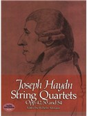 Joseph Haydn: String Quartets Opp. 42, 50 And 54. Sheet Music