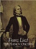 Franz Liszt: The Piano Concerti - Full Score. Sheet Music