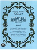 W.A. Mozart: Complete Serenades In Full Score - Series II. Ensemble Sheet Music