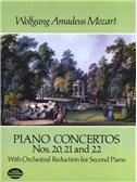 W.A. Mozart: Piano Concertos Nos. 20, 21 And 22