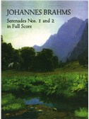 Johannes Brahms: Serenades Nos. 1 And 2 In Full Score. Orchestra Sheet Music