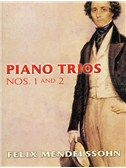 Felix Mendelssohn: Piano Trios No.1 And No.2. Violin Sheet Music