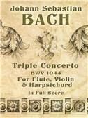 J.S. Bach: Triple Concerto BWV 1044