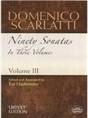 Domenico Scarlatti: Ninety Sonatas In Three Volumes - Volume III