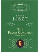 Franz Liszt: The Piano Concerti (Dover Miniature Score)