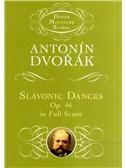 Antonin Dvorak: Slavonic Dances Op.46 (Study Score)