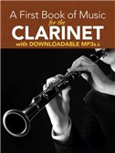 Peter Lansing: A First Book Of Music For The Clarinet (Book/MP3s)