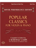 Popular Classics For Violin & Piano. Sheet Music
