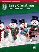 Easy Christmas Instrumental Solos, Level 1 - Cello Bk/CD