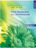 Nicolai Rimsky Korsakov: Third Movement From Sheherazade - Easy Piano