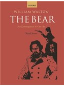 William Walton: The Bear - Vocal Score