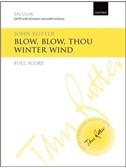 John Rutter: Blow, Blow, Thou Winter Wind (Full Score)