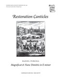 Daniel Purcell: Magnificat And Nunc Dimittis In E Minor (Ed. Geoffrey Webber). SATB Sheet Music
