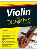 Katharine Rapoport: Violin For Dummies (Book/Online Video And Audio) Third Edition
