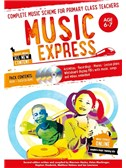 Music Express: Age 6-7 - Year 2 (Book/3CDs/DVD-ROM) Second Edition