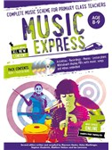 Music Express: Age 8-9 - Year 4 (Book/3CDs/DVD-ROM) Second Edition