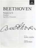 Ludwig Van Beethoven: Piano Sonata In G Op.49 No.2 (Sonate Facile)